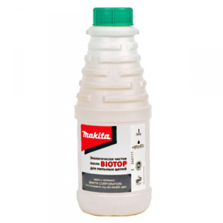 Масло для смазки цепи Makita BIOTOP 980408610