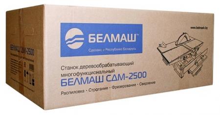 Станок деревообрабатывающий БЕЛМАШ СДМ-2500 - Фото 2