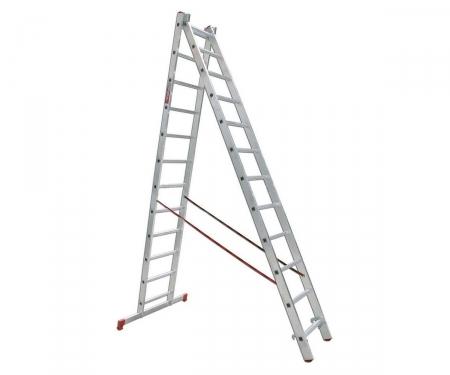 Лестница двухсекционная 2 x 12 VIRA Rus 600212