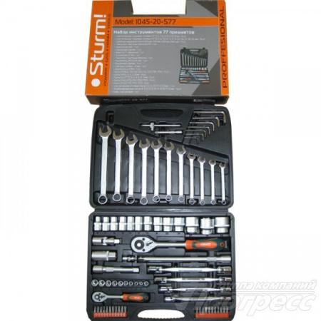 Набор головок и ключей STURM 1045-20-S77 - Фото 2