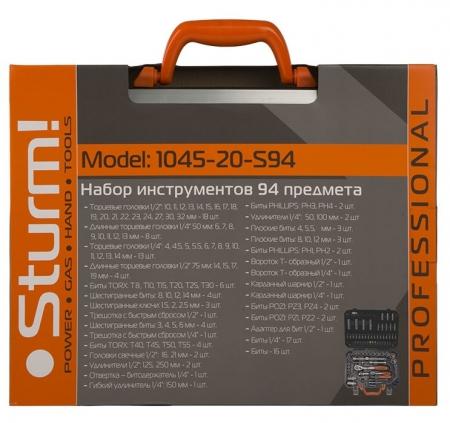 Набор головок STURM 1045-20-S94 - Фото 4
