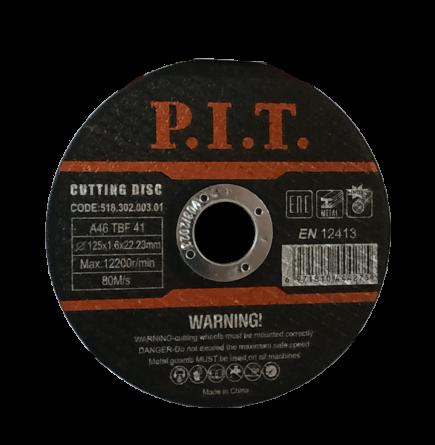 Диск отрезной по металлу P.I.T.
