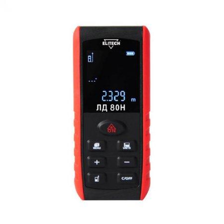 Дальномер лазерный ELITECH ЛД 80 Н