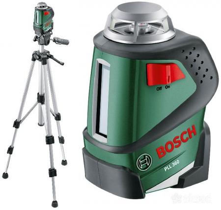 Лазерный нивелир со штативом BOSCH PLL 360 Set 0.603.663.001 - Фото 1