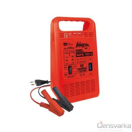 Автоматическое зарядное устройство FUBAG RAPID 120/12 - Фото 1