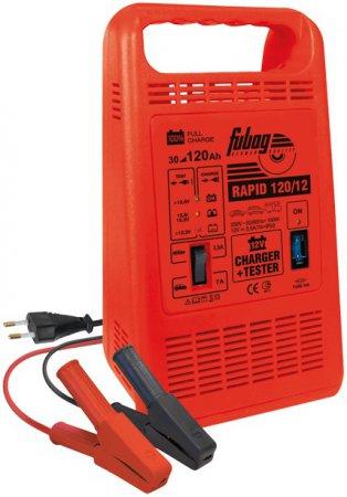 Автоматическое зарядное устройство FUBAG RAPID 120/12 - Фото 2