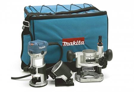 Фрезер кромочный Makita RT 0700 CX2 - Фото 2