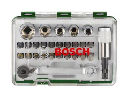 Набор бит ( 27 c ключом-трещеткой) BOSCH 2.607.017.160