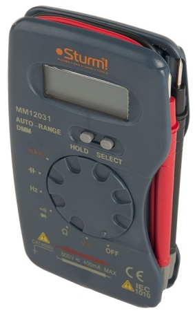 Мультиметр STURM MM-12031 - Фото 4