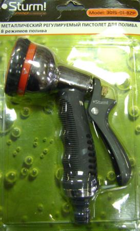 Пистолет для полива STURM 3015-01-8ZP