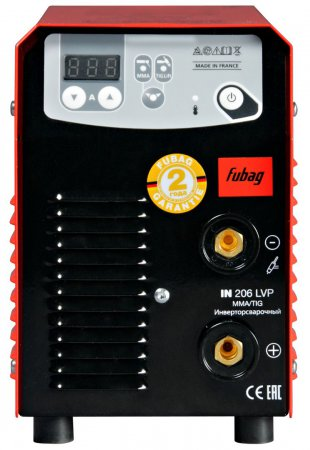 Инвертор сварочный  FUBAG IN 206 LVP - Фото 3